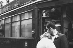 Tram wedding in Milan duepunti fine art wedding photography, matrimonio in tram a milano