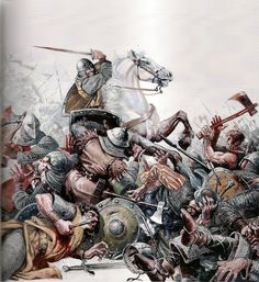 El Cid at the Battle of Graus. Dates for this battle vary between 1063 and though most probable is Spring Medieval Knight, Medieval Armor, Medieval Fantasy, Military Art, Military History, Norman Knight, World Of Warriors, Armadura Medieval, Early Middle Ages