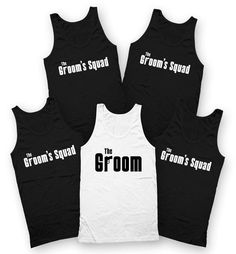 Bachelor Party Tanks Groom Tank Top Groomsmen Gifts Bachelor | Etsy