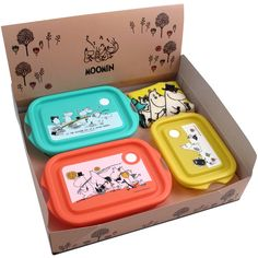 Moomins Gift Set: 4 pieces Original