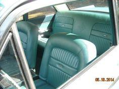 1962 Mercury Comet S22 factory 4 speed bucket seats NO rust condition low miles, image 6