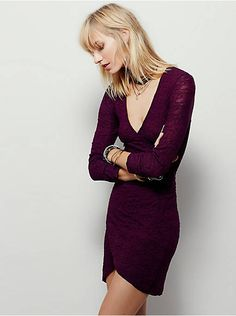 Free People Wrap Me Up Bodycon