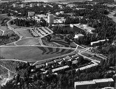 Leimuniitty park. Tapiola. Finland. Jussi Jännes. 1959.