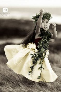 Keiki Hula Dancer // Plumeria Lei // Young Hula Girl // Hawaiian culture and tradition // all beautiful sources of inspiration for us all at Coco Moon Hawaii Hawaiian Girls, Hawaiian Dancers, Hawaiian Art, Polynesian Dance, Polynesian Culture, Hawaii Hula, Aloha Hawaii, Hula Dancers, Hula Girl