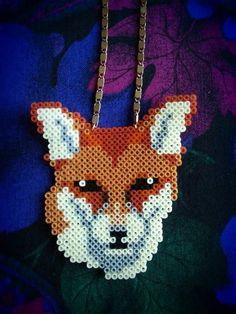 What does the fox say? hama, hama, hama, bead, bead, bead...!    For Kathleen