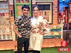 Manisha Koirala thanks Kapil Sharma for making her laugh so much