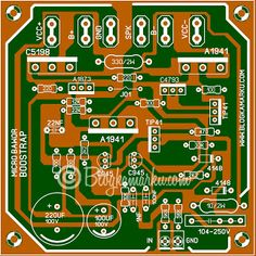 power bootstrap Micro Karya Pakdhe Bawor Waves Audio, Circuit Board Design, Circuit Diagram, Electronics Projects, Electronic Circuit, Hand Art, Chanel, Tech, Artwork