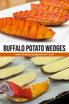Buffalo Potato Wedges Recipe - The Black Peppercorn