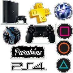 Bolo de Raul Birthday Party Decorations Diy, Diy Party, 11th Birthday, Birthday Bash, Party Props, Party Games, Video Game Symbols, Playstation Cake, Best Gaming Wallpapers