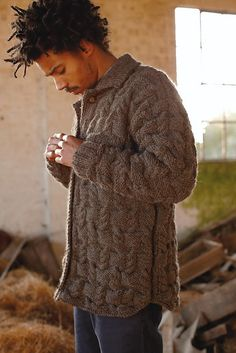 "I am seriously smitten by this ""dress shirt"" designed sweater -- Thames pattern by Martin Storey (via Ravelry)"