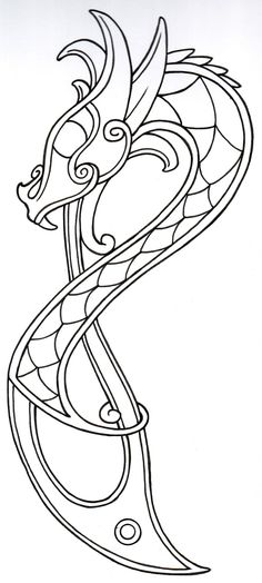 viking_dragon_outline2_by_vikingtattoo-d397xdh.jpg 990×2,200 pixels