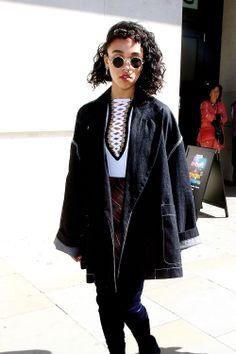 celebritiesofcolor:FKA Twigs out in London