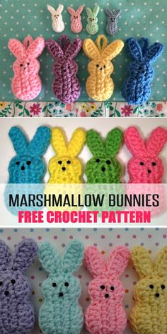 The Most Adorable Free Easter Crochet Patterns To Make If you are looking for some Free Easter Crochet Patterns you are in the right place. We've included Easter Crochet Baskets and more. Check them out now. Crochet Easter, Easter Crochet Patterns, Crochet Diy, Holiday Crochet, Crochet Stitches Patterns, Crochet Bunny, Crochet Gifts, Amigurumi Patterns, Crochet Ideas