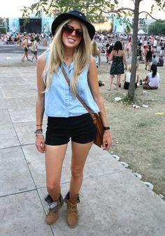 Festival Fashion: Osheaga 2012 - Fashion Forum - StyleBistro