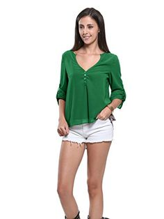 Liberal Sexy Fashion Womens Summer Autumn Loose Long Flare Sleeve Shirt Ladies Casual V-neck Bandage Solid Short Blouse Tops Year-End Bargain Sale Back To Search Resultswomen's Clothing