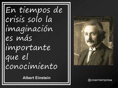 Una frase muy acertada de Albert Einstein