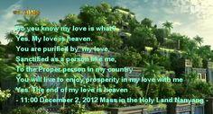 Heaven Do You Know Me, Heaven, My Love, Sky, Heavens, Paradise