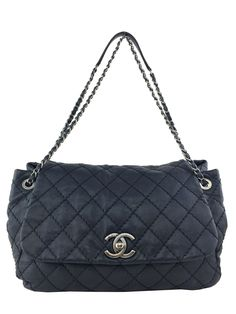 Chanel Quilted Leather Large Accordion Flap Bag 098e0202e297a