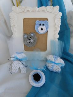 Baby Gifts, Crochet Earrings, Frame, Jewelry, Decor, Picture Frame, Jewlery, Decoration, Gifts For Baby