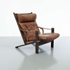 Ingmar Relling Pair of Lounge Chairs for Westnofa image 3 $3600