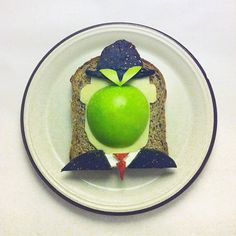 Art on toast
