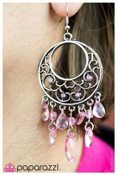 pink crystal earrings · Fun & Fabulous Fashionista · Online Store Powered by Storenvy