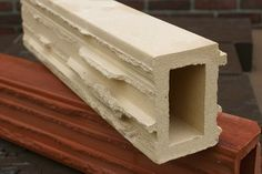 Daas baksteen, DuecoRock wordt geleverd in lengtes van 30,40 en 50 cm.  Hoogte 10 cm