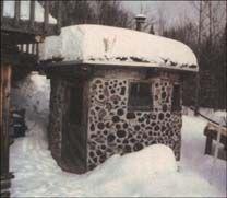 Building a Cordwood Masonry Sauna - Do-It-Yourself - MOTHER EARTH NEWS + some history!