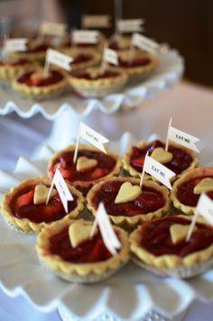 Dessert Tables | Sweet Doughs  Alice in Wonderland:  Heart Tarts