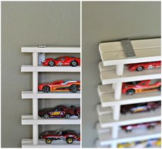 DIY Matchbox Car Garage **UPDATED** via a LO and Behold Life