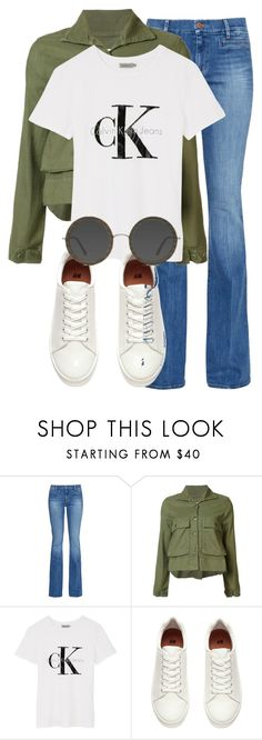 """Untitled #2223"" by sully99 ❤ liked on Polyvore featuring M.i.h Jeans, The Great, Calvin Klein, H&M and EyeBuyDirect.com"