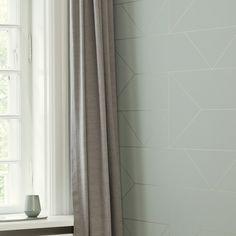 Lines Wallpaper - Mint
