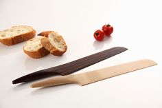 """Fusion"" Kitchen Wood Knife  ANDREA PONTI"