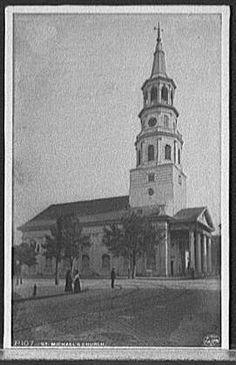 Saint-Michaels-Church-Anglican-religious-buildings-South-Carolina-SC-1900