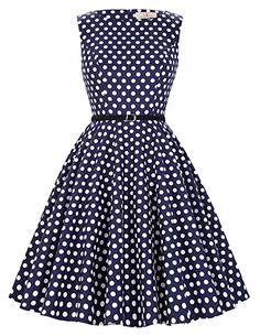 5d593b3aea4 GRACE KARIN® 50s Retro Vintage Rockabilly Kleid Partykleider Cocktailkleider  GD6086  Amazon.de  Bekleidung