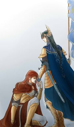 Fingon and Maedhros by MintKim.deviantart.com on @deviantART