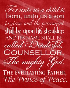 The Family: A Proclamation to the World: Christmas Scripture Print & Freebie