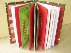 Christmas notebook -look inside.
