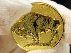 Gold Buffalo Coin Reverse Proof / Proof - Buffalo