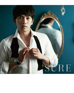 Ji Sung - Sure Magazine December Issue '12