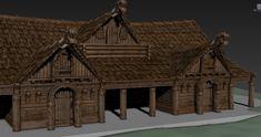 Minecraft Medieval Village, Viking Village, Medieval Houses, Building Concept, Building Art, Building A House, Vikings, Viking Aesthetic, Conan Exiles