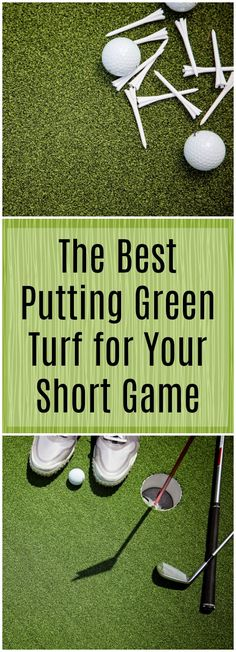 Hole, Fore, Bogey, Birdie… you probably know all the terms for golfing, but do you know the language for putting green? Learn everything you need to know about putting green turf to get your short game up to par. Putting Green Turf, Home Putting Green, Outdoor Putting Green, Home Gym Flooring, Diy Flooring, Rubber Flooring, Flooring Ideas, Home Blogs, Golf Green