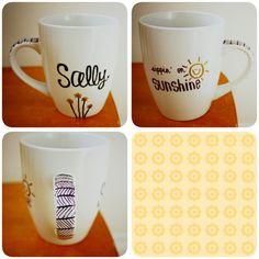 sharpie mug #slawcrafts #sallymakesthings
