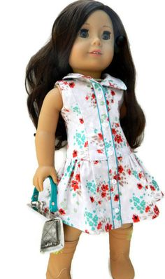 aced15233c0 American Girl Doll Clothes - Pale Grey