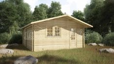 SANDYFORD LOG CABIN x Free shingle roof tiles, damp proof membrane and floor insulation. Delivered by loghouse. Garden Log Cabins, Roof Boards, Floor Insulation, Double Glazed Window, Roof Tiles, Internal Doors, Windows And Doors, Shed, Outdoor Structures