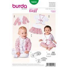 Burda - 9410 Rokje en vestje