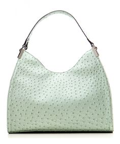 #WholesaleHandBagClan,Mint Ostrich Irene Shoulder Bag