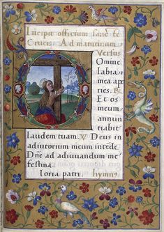 Yates Thompson 29 TitleBook of Hours, Use of Rome (the 'Hours of Bonaparte Ghislieri', formerly known as 'The Albani Hours') OriginItaly, N. (Bologna) Datec. 1500 LanguageLatin ScriptHumanistic