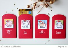 mama elephant | design blog: INTRODUCING: Mini Messages + Mini Tags | gift card holders