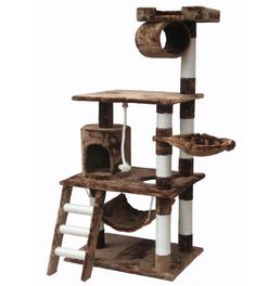 $80 - Brown Cat Playhouse - www.cattreehouseshop.com